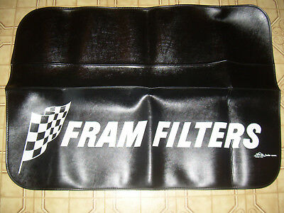 Vintage Fram Oil Filter Fender Covers Tri - X Co. Oxford Michigan  Made In U.s.a