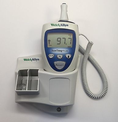 Welch Allyn SureTemp Plus 692 Thermometer w/ Wall Mount & Oral Probe