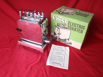 Vintage Australian Made Crest Electric Toaster in her Original Box