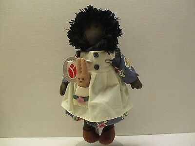 """Black Americana Doll by Delton Products 9"""" with Tags"""