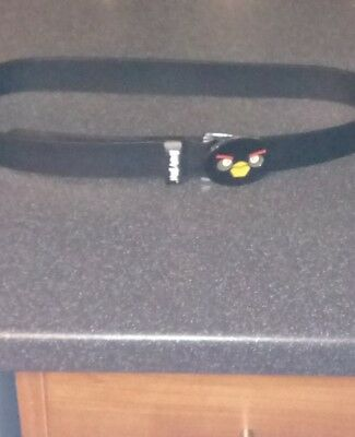 boys 13yrs angry birds leather belt new.