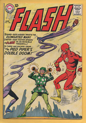 The Flash #138 August 1963, DC, 1959 Series VG/FN