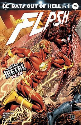 The Flash #33 Cover A  Metal Tie In  Red Death!!!!!    NM    DC