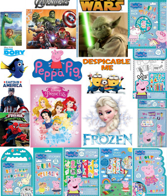 Disney Colouring Books Sticker Pad Paradise Busy Pack 700 Stickers Fun Activity