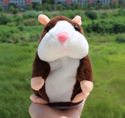Hamster en peluche qui parle jouet ecudatif pour enfant, speak for child