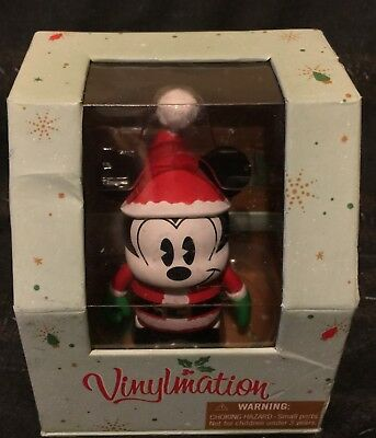 """Disney Vinylmation 3"""" Holiday Christmas Mickey Mouse Collectible Figure"""