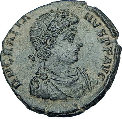 GRATIAN Original 378AD Antioch Authentic Ancient Roman Coin Rome as Roma i65918