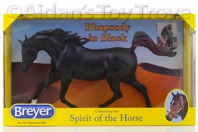 Breyer Rhapsody In Black NIB 1752 - Traditional Horse - New Weather Girl Arabian