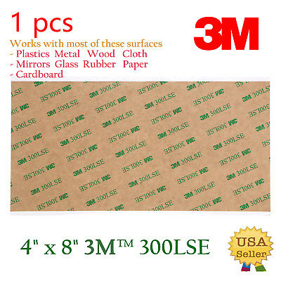 3M 300LSE Double Sided -SUPER STRONG STICKY HEAVY DUTY SHEET OF ADHESIVE TAPE
