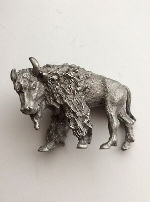 Pewter Spoontiques PP801. American Buffalo Cool