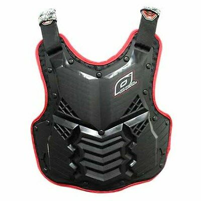 NEW ONEAL RACING HOLESHOT BLACK RED Adult Body Armour Chest Protector MX SX Moto