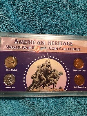 American Heritage World War 11 coin collection