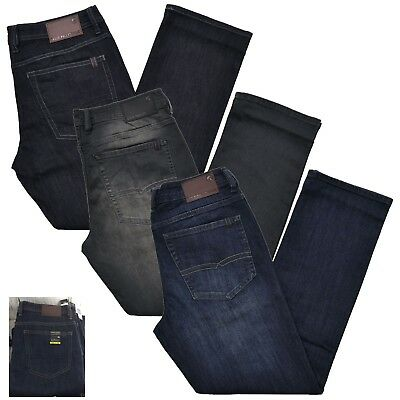 Buffalo David Bitton Jeans Men's Straight Stretch Driven-X Basic Jeans