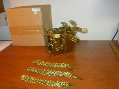 Mason+Sullivan/urgos  Uw32/3A  8 Day Westminster Chime Chain Movement Complete