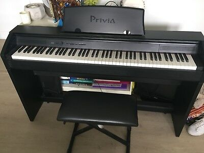 Casio PX 750 Digital Piano Weighted Keys Perfect Condition