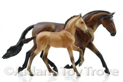 Breyer Mamacita y Chico 711239 - BreyerFest 2016 SR Andalusian Mare and Foal