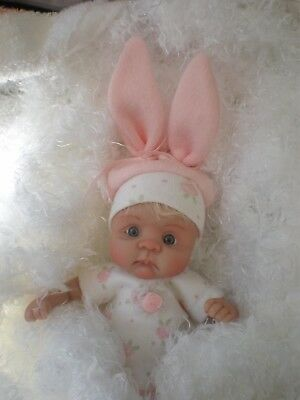 Cute 7 Inch Polymer Clay Doll  Sculpted By Joni Inlow/ Dolly Street Nurseries