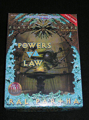 AD&D Planescape Powers of Law Miniaturen Box (Ral Partha 10-521)