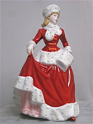 """Charming Royal Doulton Limited Edition Christmas figurine """"Winter's Eve"""" HN4853"""