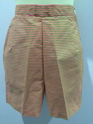 ORIGINAL MOD 60's HIGH WAISTED PIN STRIPED N.O.S VINTAGE SUMMER Go-Go SHORTS
