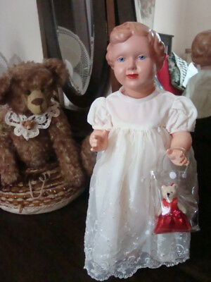 Vintage Made in Poland Celluloid doll