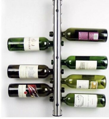 Avanti Wall WINE RACK BOTTLE STAND BRACKET BARWARE BAR  62cm Long