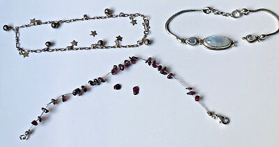 Small Lot of Silver Jewellery