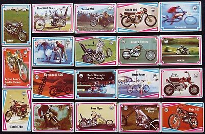 Scanlens Chopper & Hot Bikes Trading Cards -  Pick Any Card For $2.95 Each