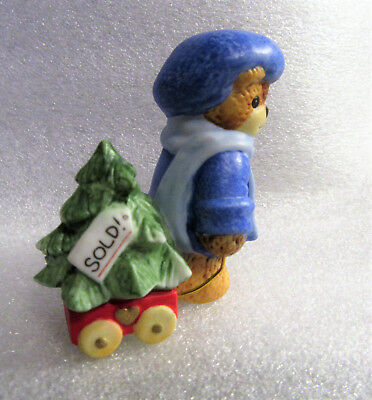 Lucy & Me ~ Picked Out a Christmas Tree ~ Porcelain Figurine