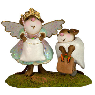 TOOTHY TWOSOME by Wee Forest Folk, WFF# M-586a, Halloween Mice New for 2017