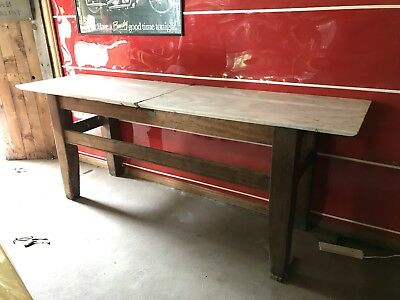 Henry Berry & Co Antique Butchers Block