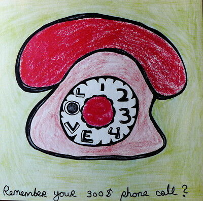 Niki de Saint Phalle  - Phone Call -  LITHOGRAPHIE  originale    1971