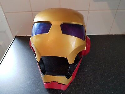 Iron Man Full Face Mask With Light And Sound