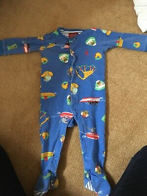 Boys Joules Sleep Suit 9-12 Months