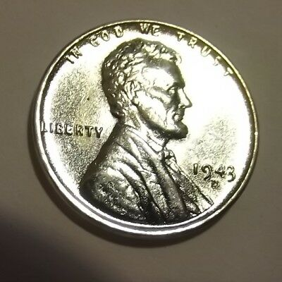 1943-D Lincoln Wheat cent~#1/BU/REP/STEEL from UNC roll.99 SHIPS
