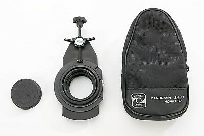 Zörk Panorama Shift Adapter - Mount Mamiya 645 lens to Nikon (Digital)-cameras