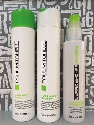 Paul Mitchell Super Skinny Shampoo & Conditioner 2 x 300ml & Relaxing Balm 200ml