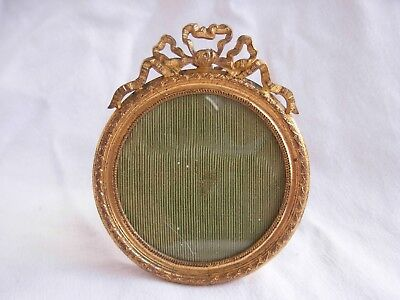 ANTIQUE FRENCH GILT BRONZE PHOTO FRAME,LATE 19th CENTURY.