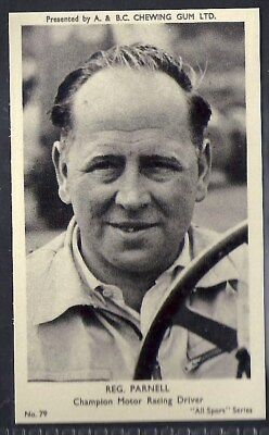 A&bc-All Sports-#079- Motor Racing - Reg Parnell