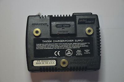 Anton Bauer Tandem 70 Single-Position Battery Charger Power Supply,  #8475-0067