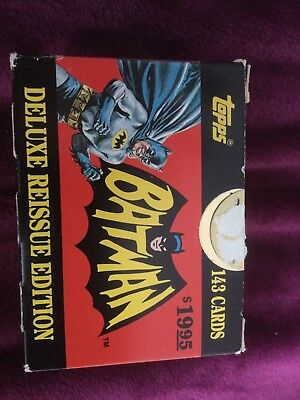 Batman Deluxe Reissue Edition Trading Cards