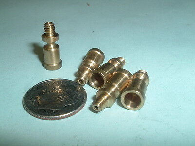 "(5) 1/4"" Mini Model Hit & Miss Gas Engine or Steam engine Brass oil Cups"