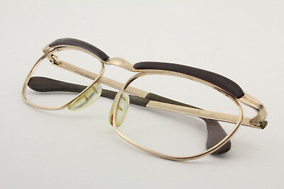 Vintage MARWITZ OPTIMA Gold filled eye/sunglasses Made in Germany Size 49-16 125