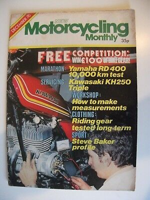 Motorycling Monthly / December 1976