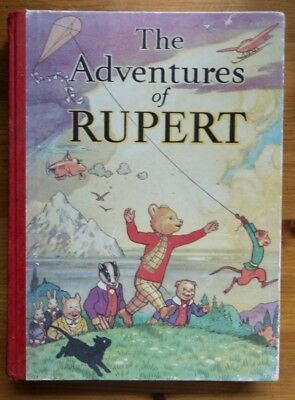 'The Adventures of Rupert' - a facsimile replica edition of a 1939 annual