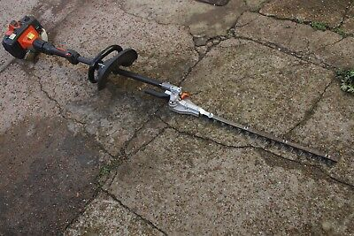 HUSQVARNA  LONG POLE HEDGE CUTTER / TRIMMER with a free shot of sthil oil