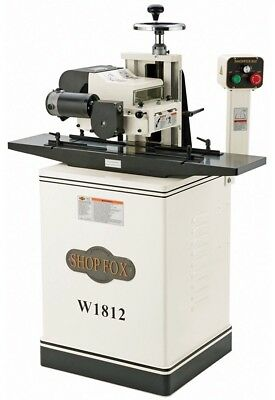 Shop Fox W1812 2HP 220V, Single-Phase, TEFC Planer w/ Stand - Local Pickup Texas