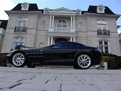 2006 Mercedes-Benz SLR McLaren Coupe 2-Door 2006 SLR PRISTINE. CNBC RATED SLR AS MOST COLLECTIBLE CAR IN THE NEXT FIVE YEARS