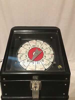 Vintage Spinning Poker Game 10 Cent Electric Trade Stimulator