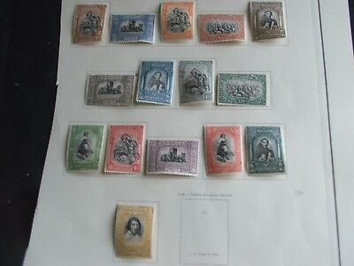 Portugal Stamps Sg 716-40 Set Good Lmm Mint